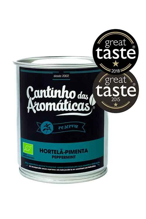 Hortelã-pimenta - Infusão BIO Lote Reserva