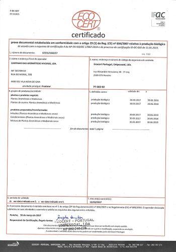 Certificado BIO 2017-2018