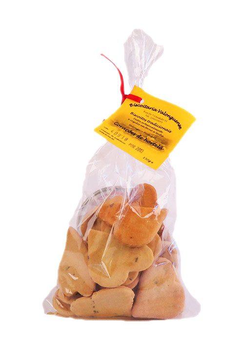 Biscoitos Tradicionais Corações de Hortelã