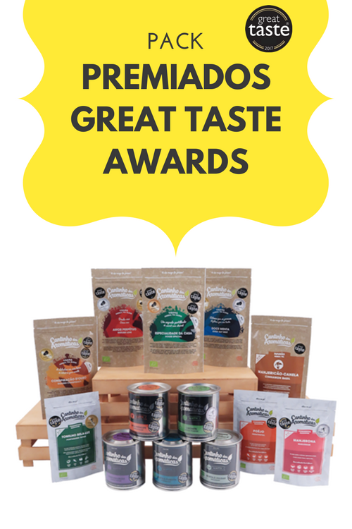 pack great taste awards