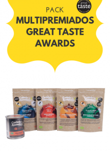 pack multipremiados great taste awards