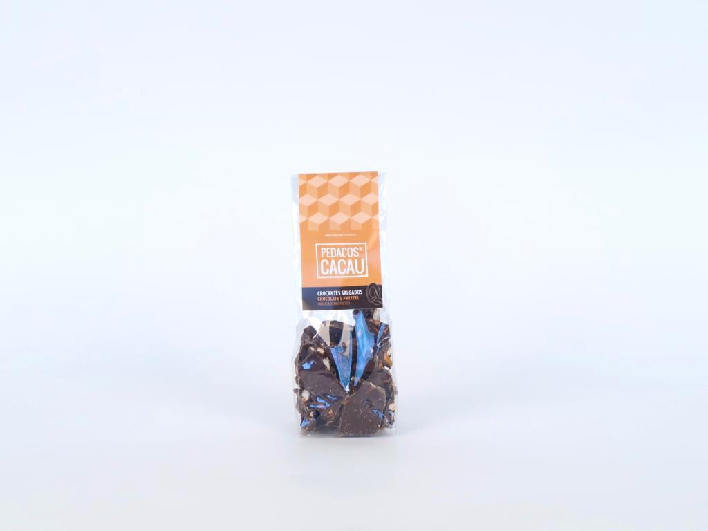 Chocolate crocante salgado