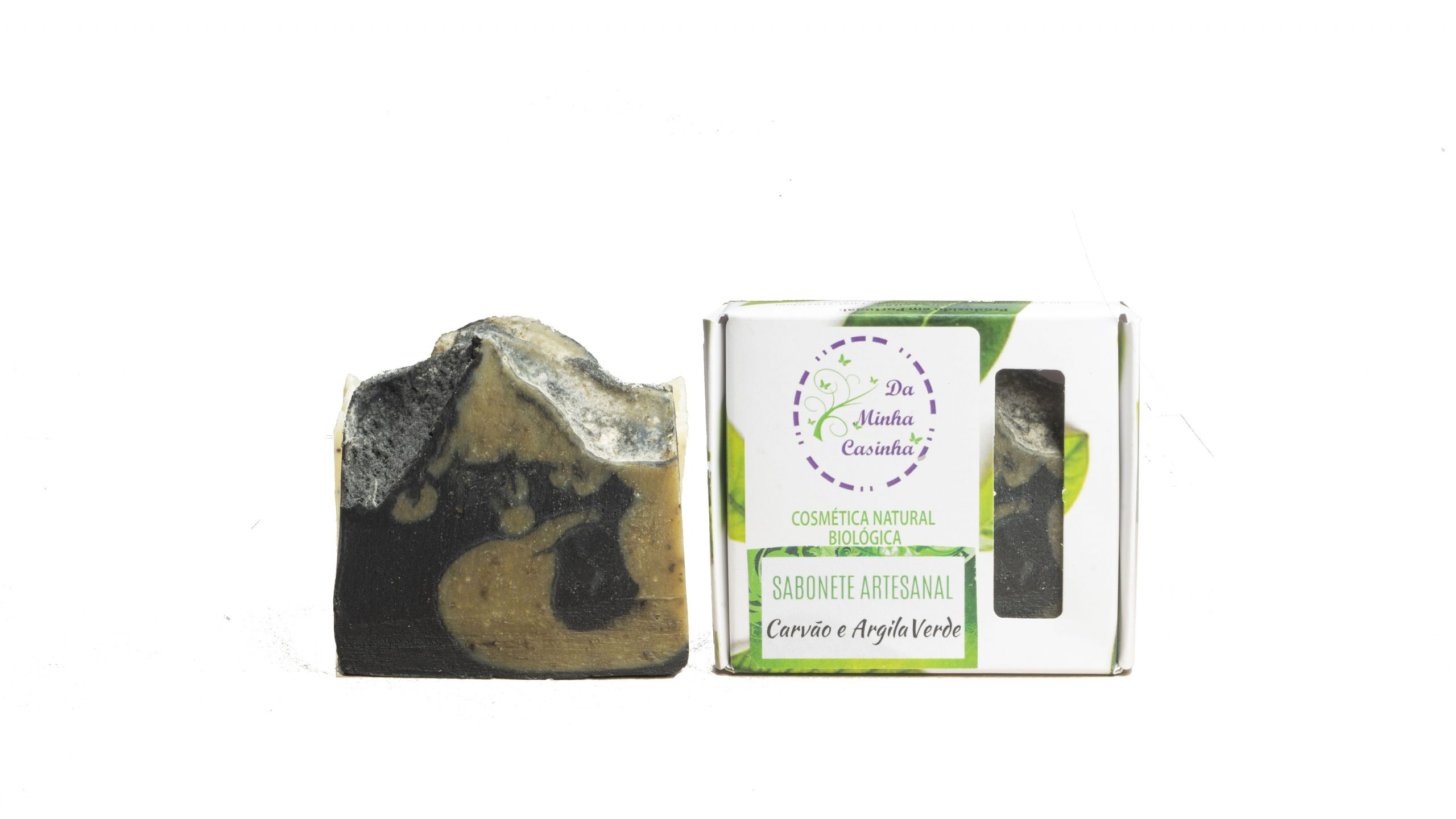 DMC carvão e argila verde sabonete