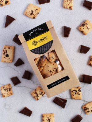 Biscoitos chocolate
