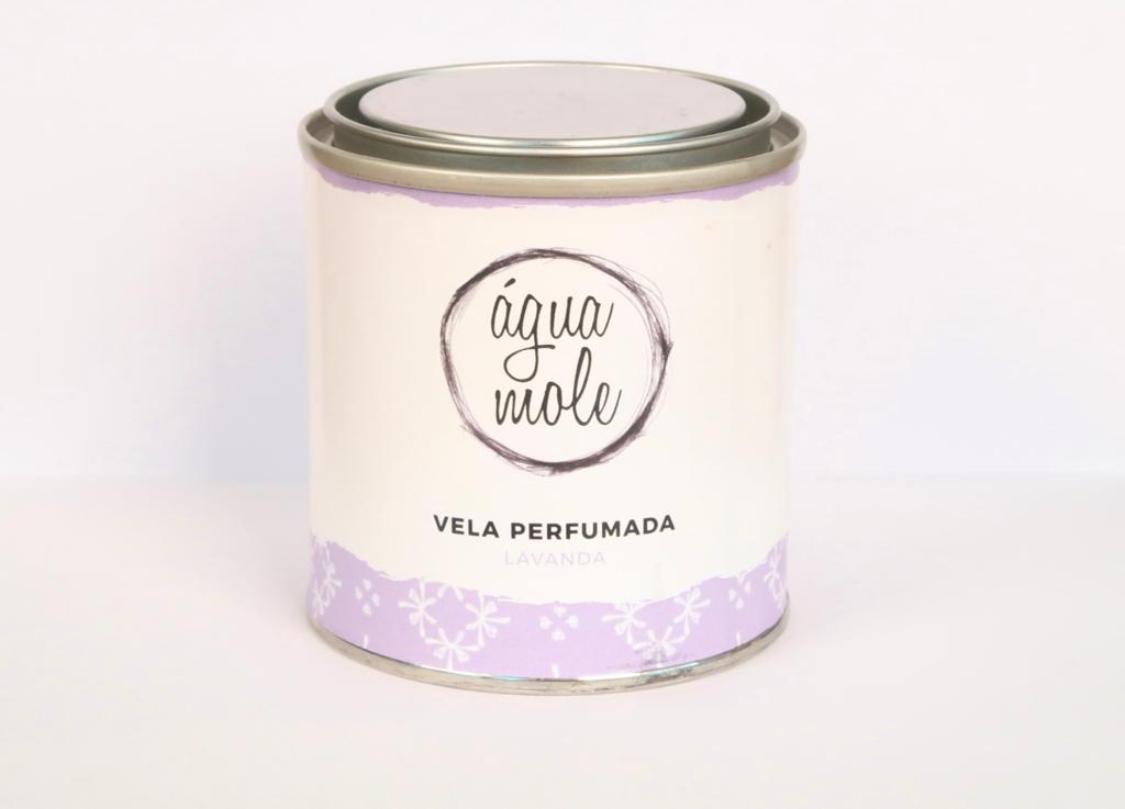 Vela Perfumada Lavanda